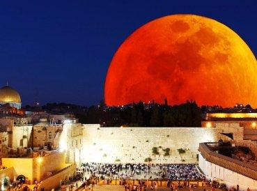Judíos afirman que la Luna de Sangre va a cambiar la historia de Israel